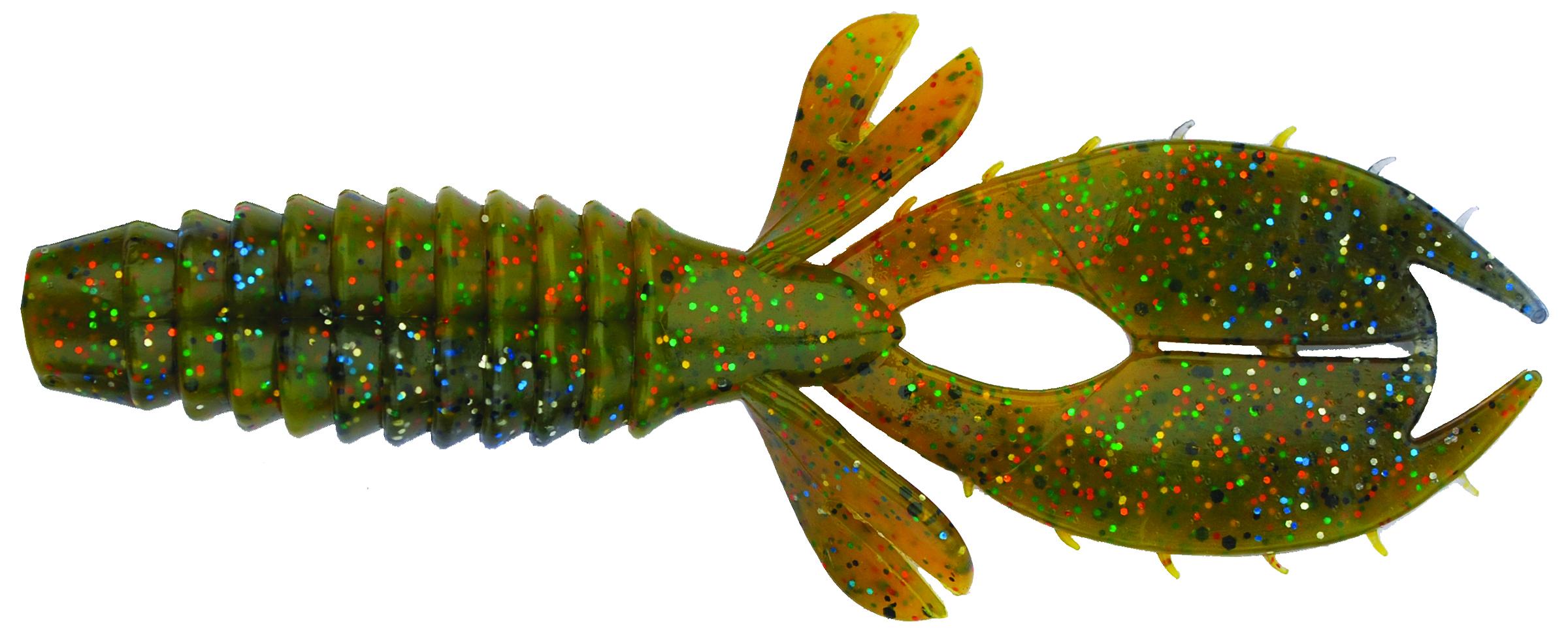Big Bite Baits - YoMama - 4 inch - YO417 - SUNFISH SWIRL