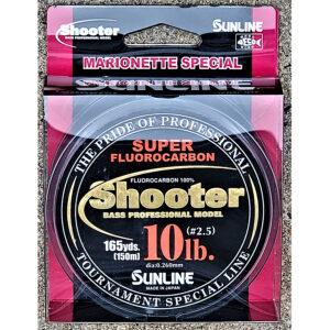 Sunline - Shooter Fluorocarbon - Marionette - 150 Meters - Shooter Fluorocarbon - Marionette - 10 LB - NATURAL CLEAR