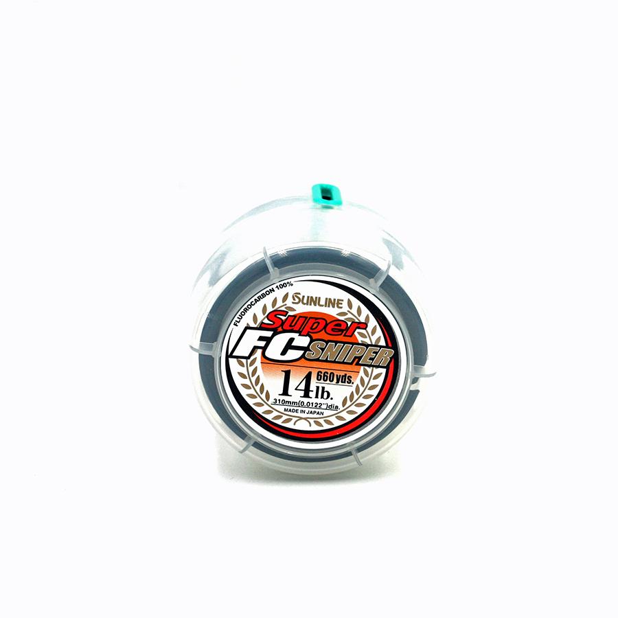 Sunline - Super FC Sniper - 660 Yard - 14 LB - Natural Clear