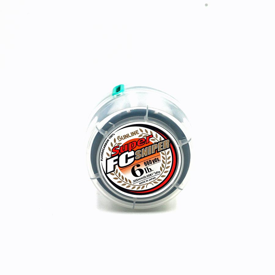 Sunline - Super FC Sniper - 660 Yard - 6 LB - Natural Clear